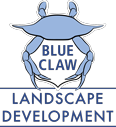 Blue Claw Landscaping Logo