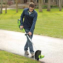 Photo of Eco-Friendly Trimmer used by Blue Claw Landscaping