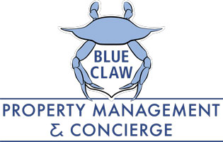 Blue Claw Property Management and Concierge Logo